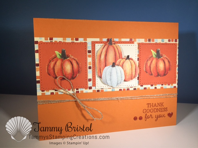 Tammy's Stamping Creations Stampin' Up! Gourd Goodness