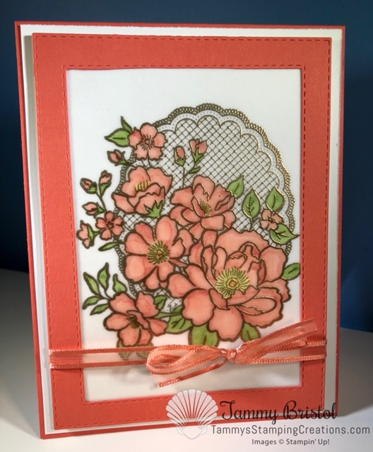 Tammy's Stamping Creations Stampin' Up! Lovely Lattice Sale-A-Bration catalog 2019